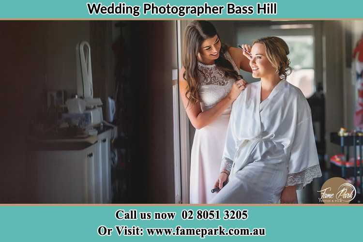 Photo of the Bride having make up Bass Hill NSW 2197