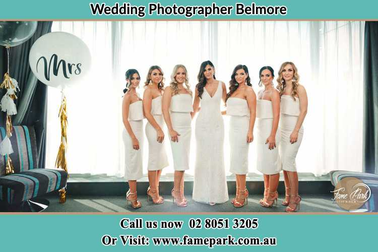 Photo of the Bride and the bridesmaids Belmore NSW 2192