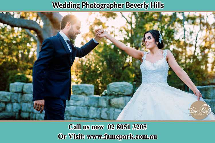 Photo of the Groom and the Bride dancing Beverly Hills NSW 2209