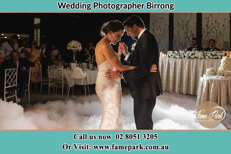 Photo of the Bride and the Groom dancing Birrong NSW 2143