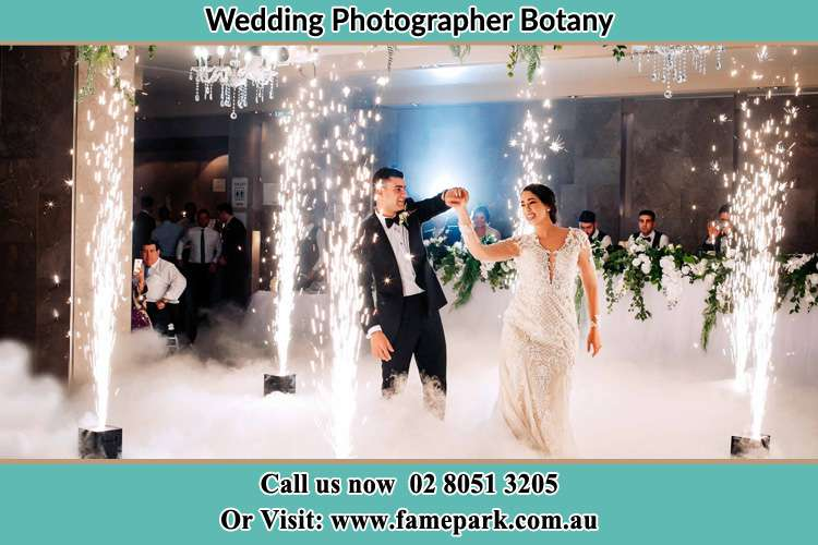 Photo of the Groom and the Bride dancing on the dance floor Botany NSW 2019