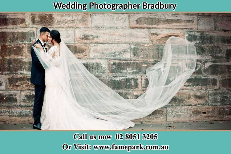 Photo of the Groom and the Bride dancing Bradbury NSW 2560