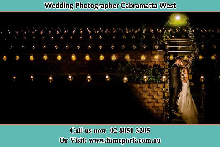 Photo of the Groom and the Bride kissing Cabramatta West NSW 2166