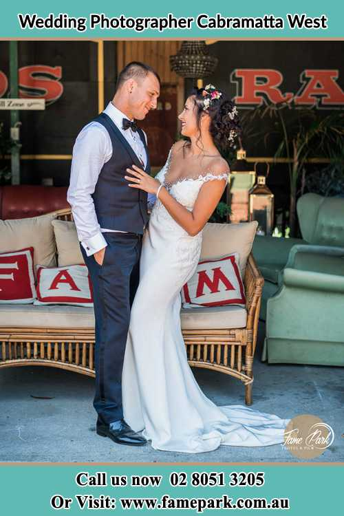 Photo of the Groom and the Bride looking each other Cabramatta West NSW 2166