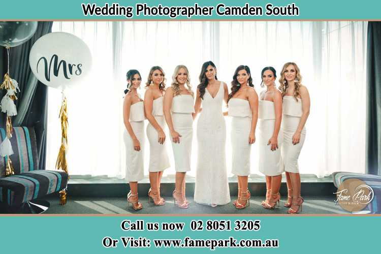 Photo of the Bride and the bridesmaids Camden South NSW 2570