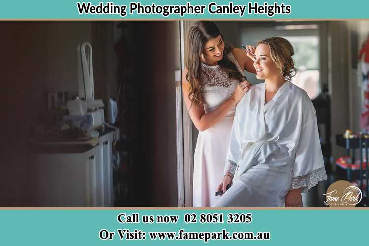 Photo of the Bride having make up Canley Heights NSW 2166