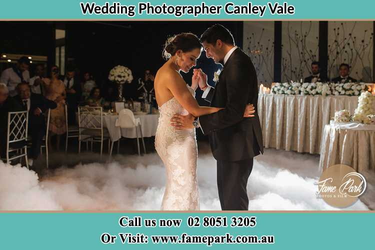 Photo of the Bride and the Groom dancing Canley Vale NSW 2166