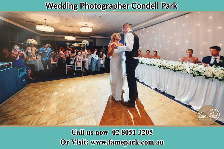 Photo of the Bride and the Groom dancing Condell Park NSW 2200