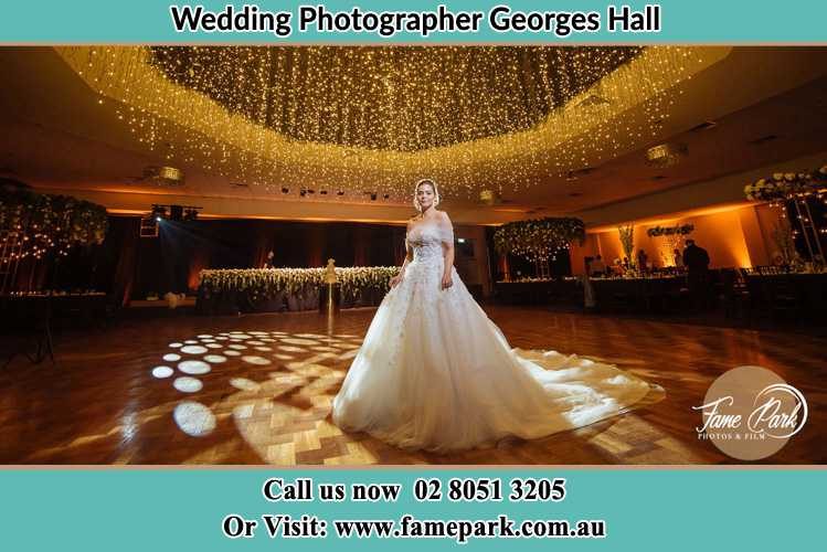 Photo of the Bride at the dance floor Georges Hall NSW 2198