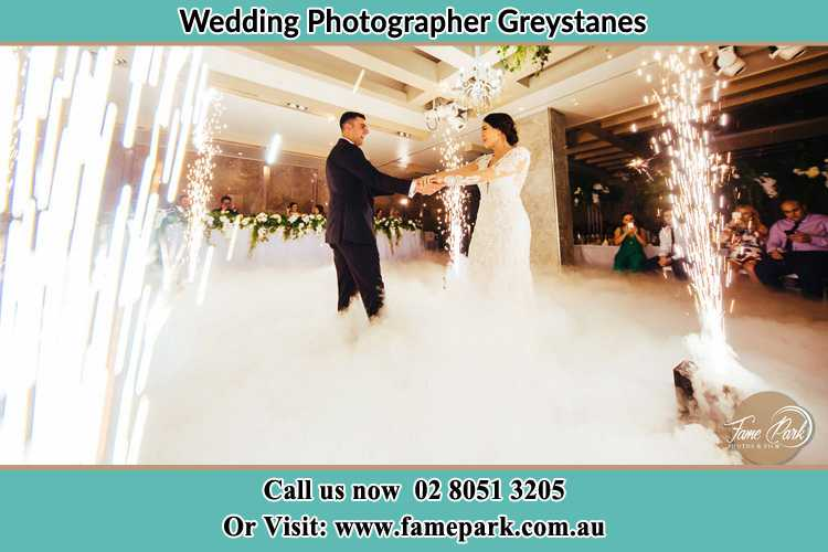 Photo of the Groom and the Bride dancing on the dance floor Greystanes NSW 2145