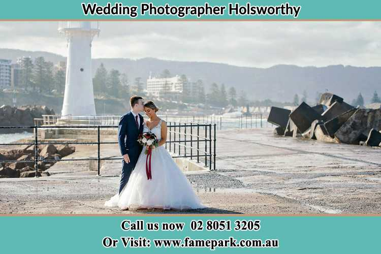 Photo of the Bride and Groom at the Watch Tower Holsworthy NSW 2173