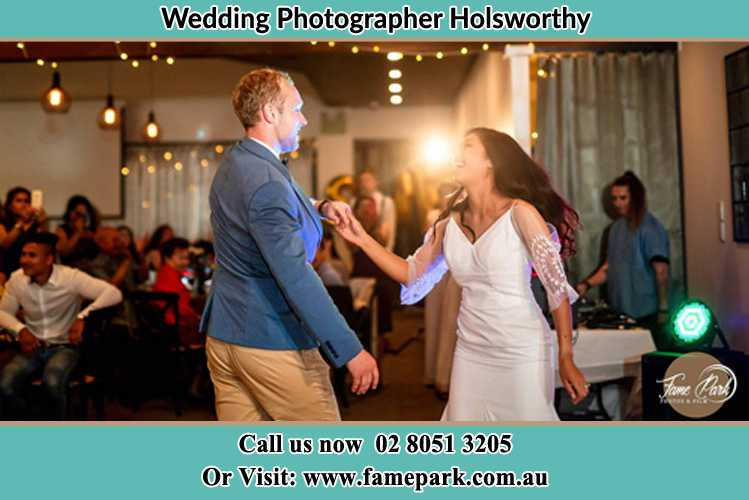 Photo of the Groom and the Bride dancing Holsworthy NSW 2173