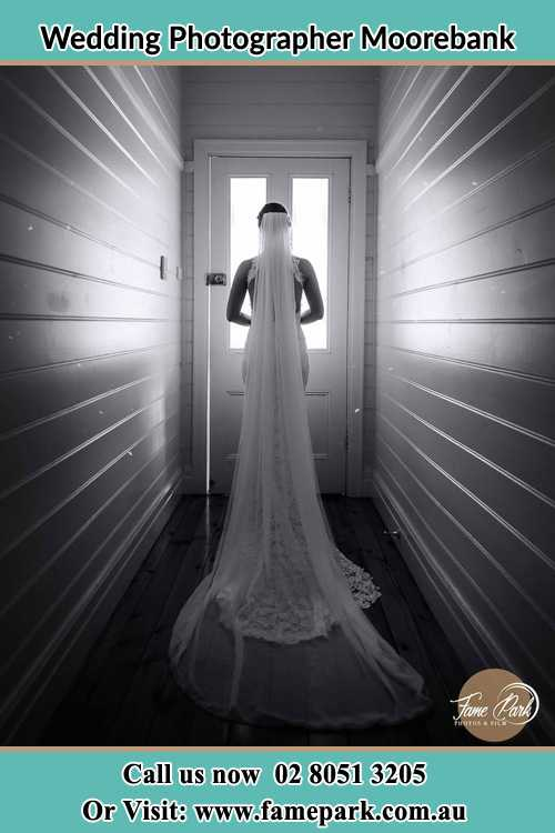 Photo of the Bride going out the door Moorebank NSW 2170