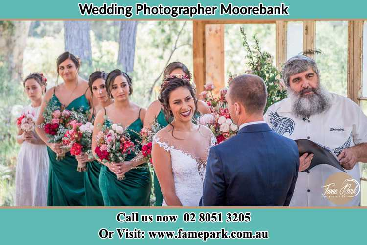 Photo of the Bride and the Groom at the matrimony Moorebank NSW 2170