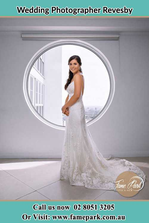 Photo of the Bride near the window Revesby NSW 2212