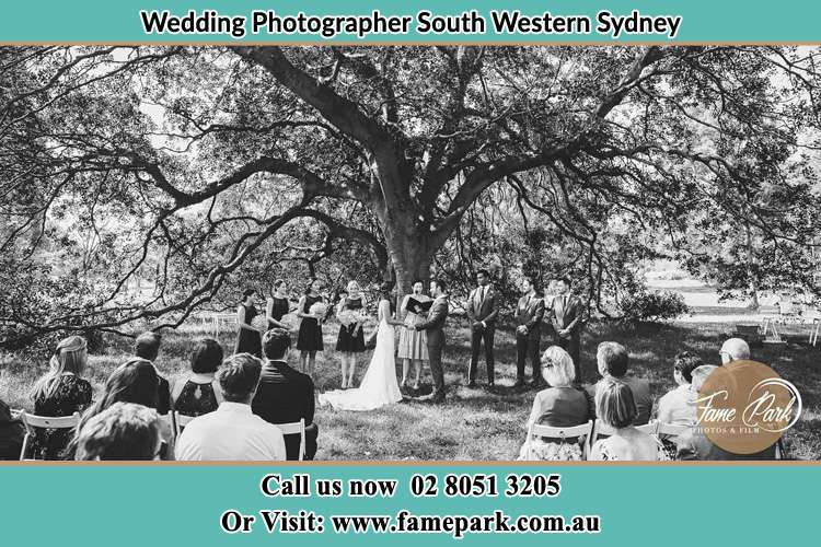 During the Wedding Ceremony South Western Sydney