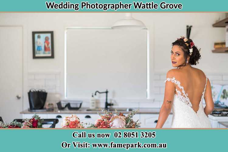 Photo of the Bride Wattle Grove NSW 2713